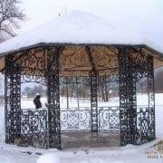 ročno kovan pavilion