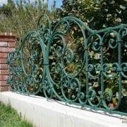 kovana vrtna ograja
