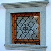 Ročno kovane okenske mreže